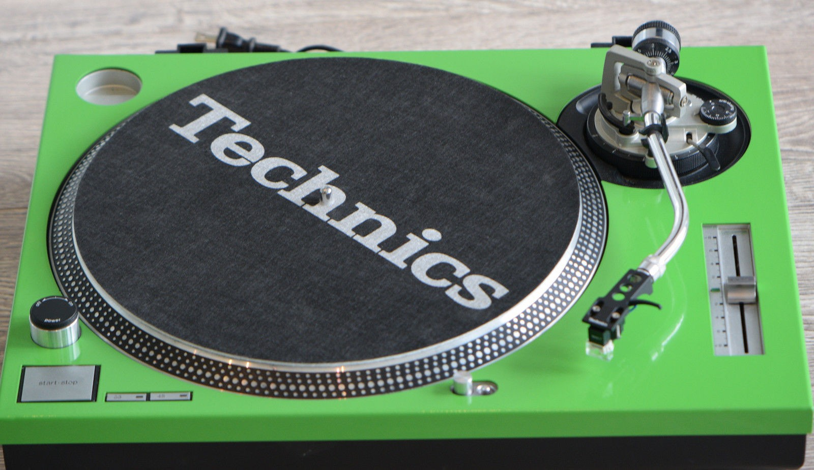 Technics Face Plate For SL1200/1210MK2 Green