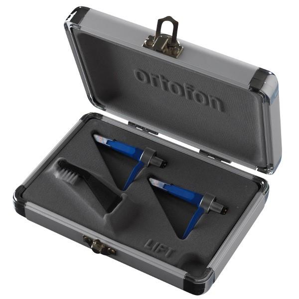 Ortofon Concorde DJS CC Twin - Blue Body / Blue Stylus with Spherical Diamond