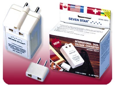 Seven Star Voltage UP / DOWN 60 Watts Travel Converter SS-213