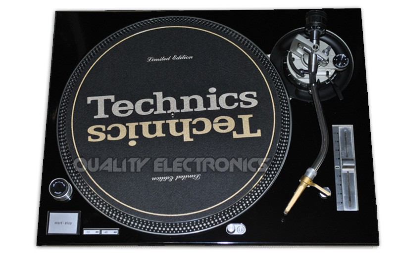 Technics Face Plate in Black for Technics SL-1200 / SL-1210 MK5 M3D Turntables