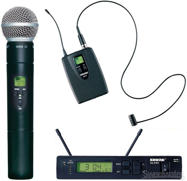 Wireless Microphone , corded mic for rent