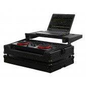 Odyssey FRGSERGOBL Black Label Flight Ready Glide Style Case with Laptop Storage Compartment Black