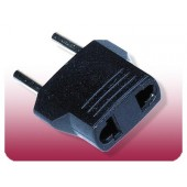 Seven Star European Plug Adapter MU-3 Round Pin European 5mm