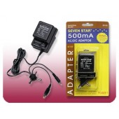 Seven Star SS-103 Universal AC/DC Adapter- 500mA