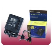 Seven Star SS-105 Universal AC/DC Adapter - 1000mA