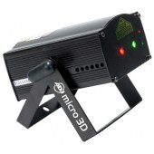 American DJ Micro 3D Red and Green Laser with 3D Effect