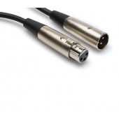 Hosa XLR-110 10ft Balanced Interconnect (XLR3F to XLR3M)