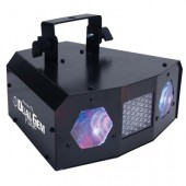 American DJ Dual Gem Pulse LED Moonflower Effect