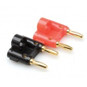 Hosa BNA-100 Connector (Dual Banana, 2 pc)