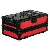 "Odyssey FR10MIXBKRED 10"" DJ Mixer Case - Red"