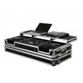 Odyssey FZGS22000W Glide Style Dj Coffin W/ Wheels For A Pioneer DJM-2000