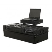 Odyssey FZGSX12CDJWBL Black Label GSX Glide Style DJ Coffin with Lock