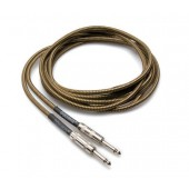 Hosa GTR-518 18ft Tweed Guitar Cable (Straight to Same)
