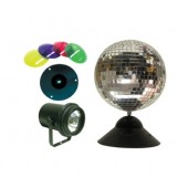 American DJ MB-8 Combo Instant Mirror Ball Package