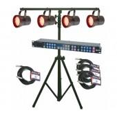 American DJ P36 LED Pinspot System