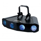 American DJ Quad Gem LED DMX Moonflower Effect
