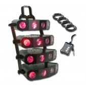American DJ Quad Gem DMX LED Moonflower System