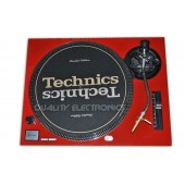 Technics Red Face Plate for SL1200MKII