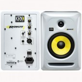 KRK Rokit 6 Monitor Speakers -Individual (White)