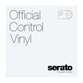 "10"" Serato Standard Colors (Pair) CLEAR 10"" Control Vinyl"