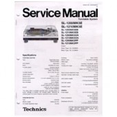 Technics SL1200 / SL1210 MK5 Service Manual