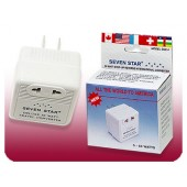 Seven Star Deluxe 50 Watts Voltage Travel Converter SS-214