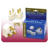 Seven Star SS-413 Worldwide Travel Adapter Plugs Set