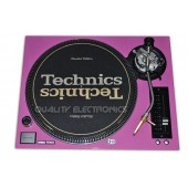 Technics Face Plate in Pink for Technics SL-1200 / SL-1210 M5G Turntable