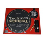 Technics Face Plate in Red for Technics SL-1200 / SL-1210 M5G Turntable