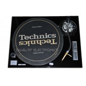 Technics Face Plate in black for Technics SL-1200 / SL-1210 MK2 Turntables