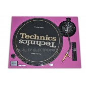 Technics Face Plate in pink for Technics SL-1200 / SL-1210 MK2 Turntables