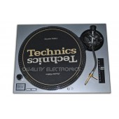 Technics Face Plate in silver for Technics SL-1200 / SL-1210 MK2 Turntables