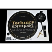 Technics Face Plate in white for Technics SL-1200 / SL-1210 MK2 Turntables