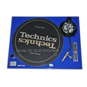 Technics Face Plate in Blue for Technics SL-1200 / SL-1210 MK5 M3D Turntables