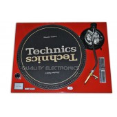 Technics Face Plate in Red for Technics SL-1200 / SL-1210 MK5 M3D Turntables