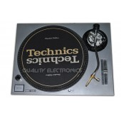 Technics Face Plate in Silver for Technics SL-1200 / SL-1210 MK5 M3D Turntables