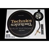 Technics Face Plate in White for Technics SL-1200 / SL-1210 MK5 M3D Turntables