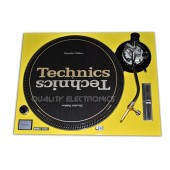 Technics Face Plate in Yellow for Technics SL-1200 / SL-1210 MK5 M3D Turntables