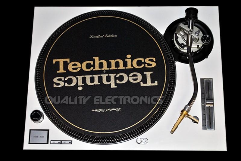 Technics Face Plate in White for Technics SL-1200 / SL-1210 MK5 M3D Turntables
