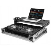 Oddysey FZGSPIXDJR1 for Pioneer XDJ-R1 DJ Controller Case FLIGHT ZONE® GLIDE STYLE™* SERIES (SILVER)