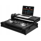 Oddysey FZGSPIXDJR1GTBL for PIONEER XDJ-R1 DJ CONTROLLER CASE   BLACK LABEL™ GLIDE STYLE™* SERIES WITH A BOTTOM GT™ GLIDE TRAY PULLOUT SHELF