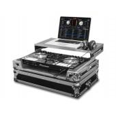 Oddysey FZGSPIDDJSR for PIONEER DDJ-SR DJ CONTROLLER CASE FLIGHT ZONE® GLIDE STYLE™* SERIES (SILVER)