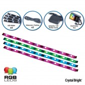 American DJ Accent Strip Black RGB LED Strips Kit