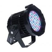 Elation Design LED 36 Pro RGB IP65 Die Cast Par with Gel Frame
