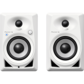 Pioneer DM-40BT-W Pair 4-inch desktop monitor speakers (white)
