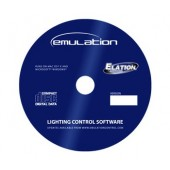 Elation EmuLATION Pro DMX Software with USB DMX Cable