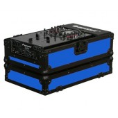 "Odyssey FR10MIXBKBLUE 10"" DJ Mixer Case - Blue"