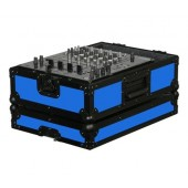 "Odyssey FR12MIXBKBLUE 12"" DJ Mixer Case - Blue"