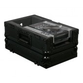 Odyssey FZCDiBL Black Label Front Load Medium Format CD / Digital Media Player Case