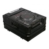 Odyssey FZCDJBL Black Label Front Load Medium Format CD / Digital Media Player Case